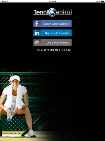 Tennis Central screenshot