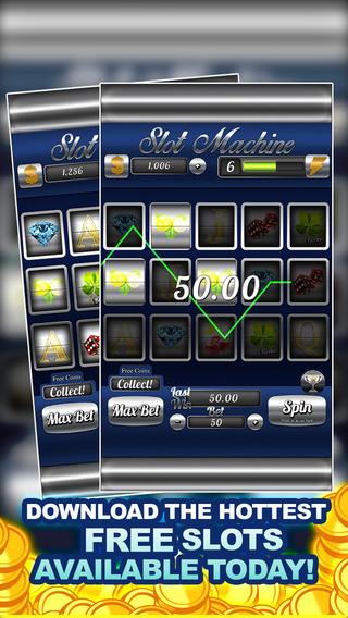 AAA Absolute Blue Casino Slots - FREE Slots Vegas Style
