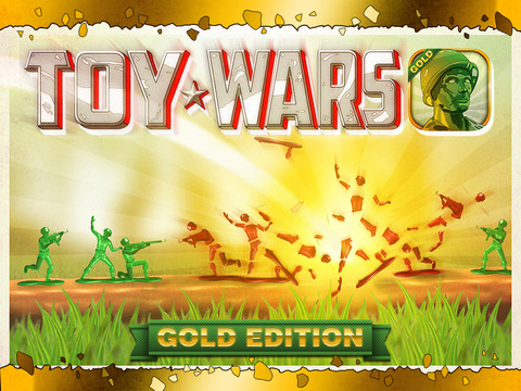 Toy Wars Gold Edition: The Story of Army Heroes. Скрин 1