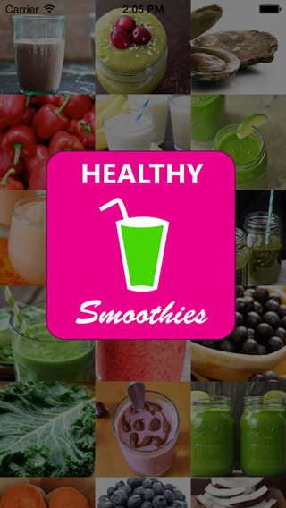 Healthy Smoothie Lite: green organic protein detox shakes and super food juice recipes.