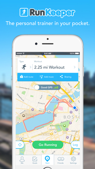 Run Keeper - GPS Running Walk Cycling Workout Route Distance and Weight Tracker