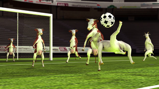 Goat N Cow 3D Soccer Multiplayer screenshot 2