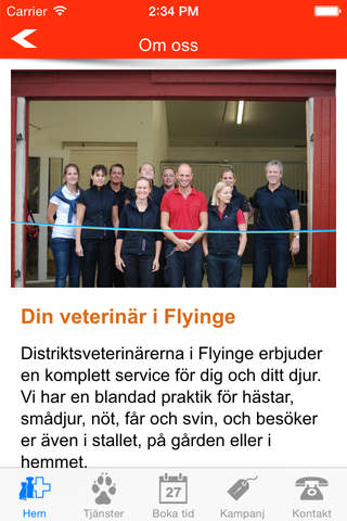 Din veterinär Flyinge screenshot 2