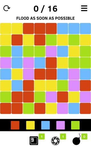 Simple Color Flood