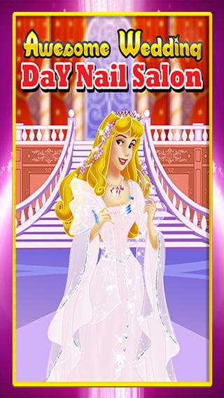 Awesome Wedding Day Nail Salon : Beautiful Princess Manicure Edition FREE