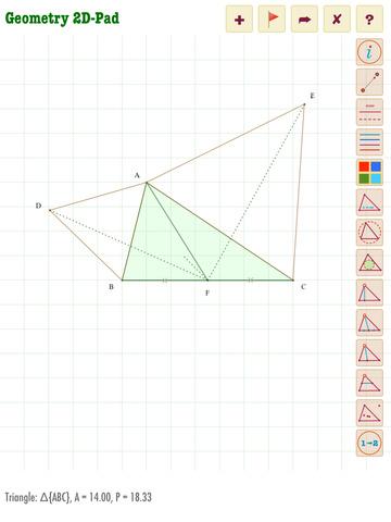 Geometry 2D-Pad