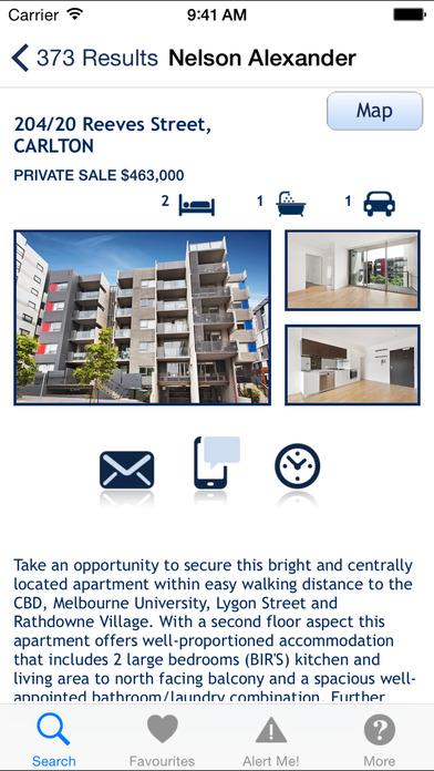 Nelson Alexander Real Estate iPhone Screenshot 4