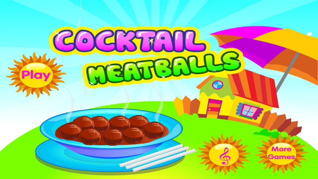 Cocktail Meatballs - Cooking games