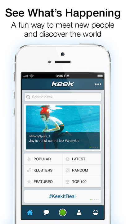 Keek - iPhone Mobile Analytics and App Store Data