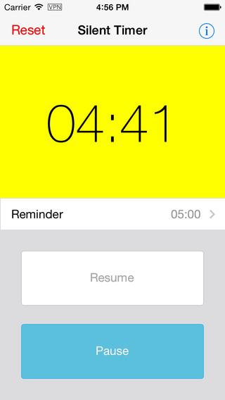 Silent Timer - 静音定时器[iPhone][¥6→0]丨反斗限免