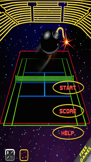 Space Tennis Championship - Touch And Hit The Bombs FULL by The Other Games