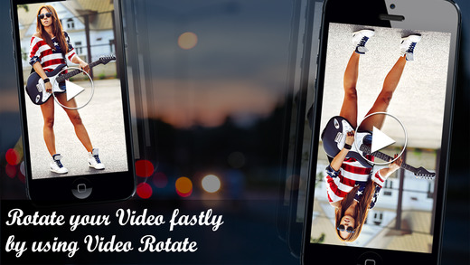 Clip Rotate- Video Rotating App to rotate or change video orientation easily for free