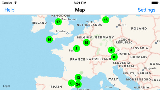 Radiation Map Tracker Free
