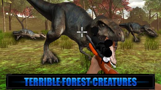 Dino Hunting Sniper Mission 3D