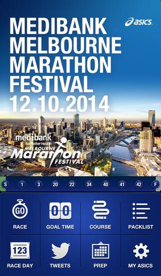 Medibank Melbourne Marathon Festival by ASICS