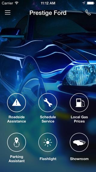 Prestige Ford DealerApp