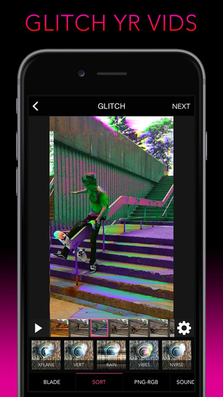 Glitch Wizard - Distort Photos to Trippy GIFs Screenshots