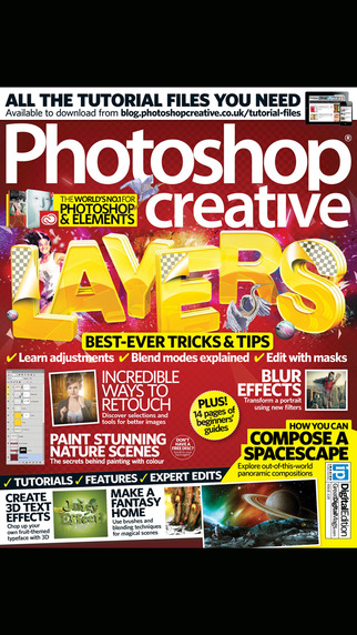 Photoshop Creative Magazine: Tutorials tips and tricks to get the most from Adobe Photoshop