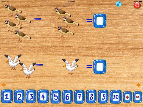 Математика для детей - Птицы