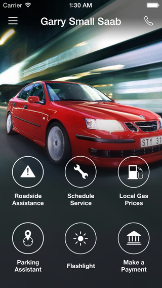 Garry Small Saab DealerApp