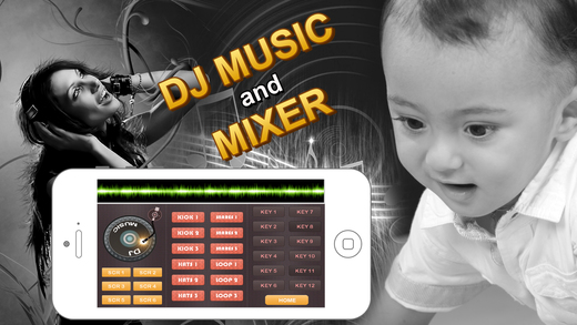 DJ Music : Digital party sound mixer Screenshots