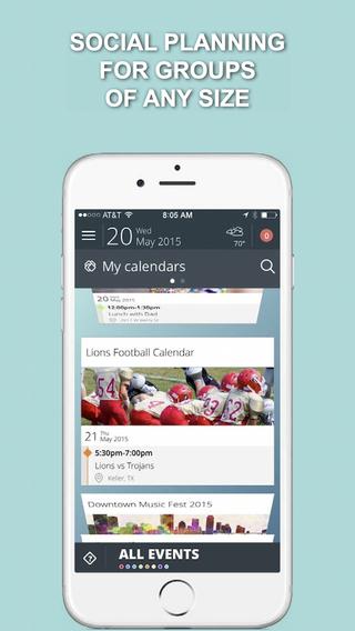 Allcal - Social Planning App