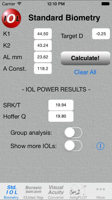 Eye Pro iPhone Screenshot 1