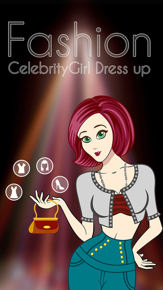 Fashion Celebrity Girl Dress Up - awesome girly dressing game