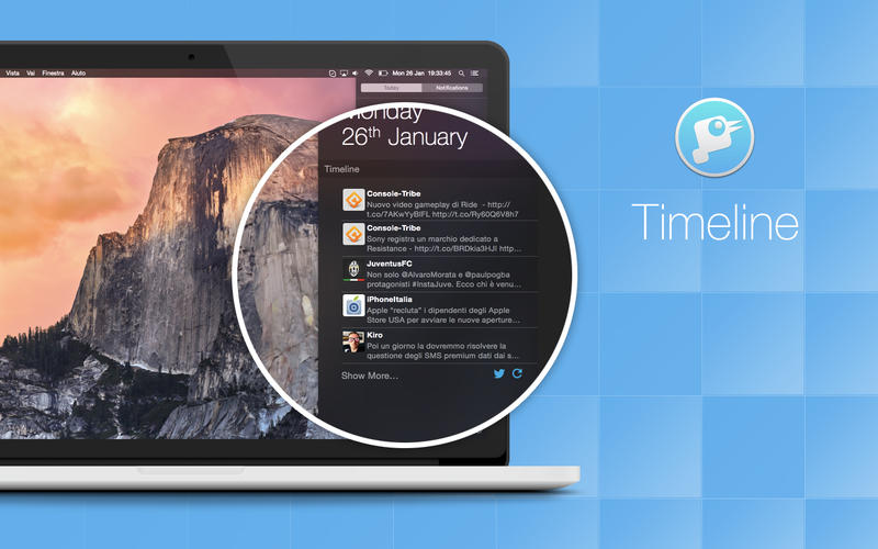 Timeline - A widget to bring Twitter on your Notification Center