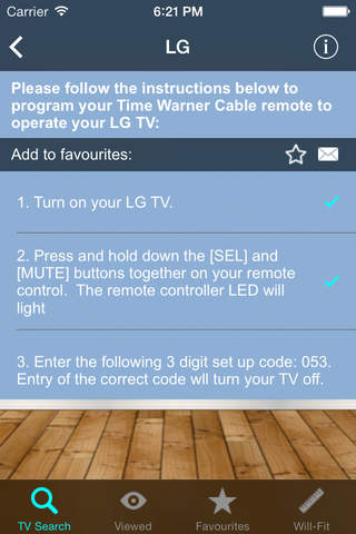 All Time Warner Cable remotes can be programmed to one TV, and the remotes can be reprogrammed if you ever purchase a new TV set. Searching for the TV code on the Time Warner remote programs the remote correctly regardless of the TV's model or brand.