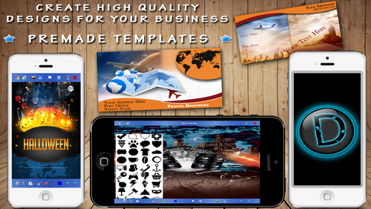 Design Flyer Creator - Make Logos Designs Icons and Graphics for Business or Personal use