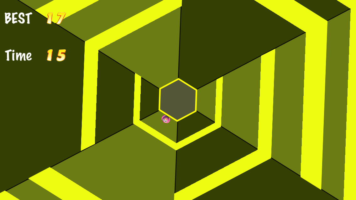 how to draw the impossible hexagon