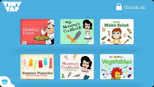 Kids Recipes and Food Games Collection - Learn to cook