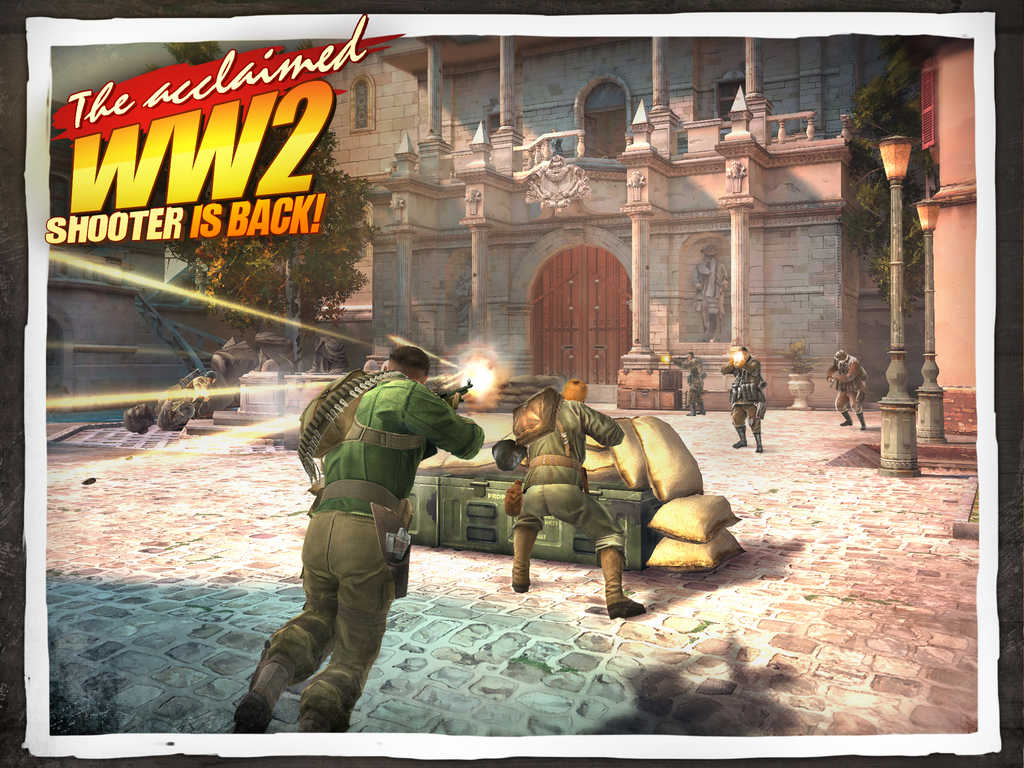 Brothers In Arms® 3: Sons of War Screen1024x1024