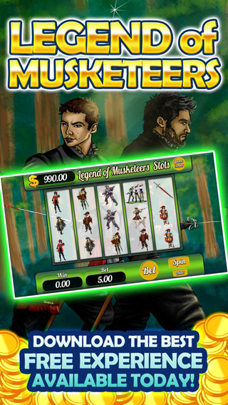 Aaron Aces Gamehouse Casino Plus Legend - The 3 Musketeers' Slots Lost Treasure Journey
