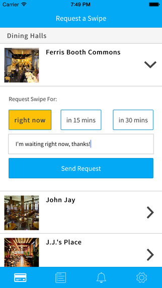 玩免費生活APP|下載Swipes - Meal Sharing Made Easy app不用錢|硬是要APP
