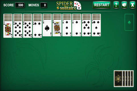 Spider Solitaire New Mobile screenshot 3