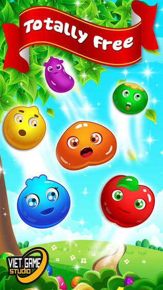 Amazing Ace Fruits Link Mania HD 2 - The Best Match 3 Puzzle Fruit Connect Adventure For Family And