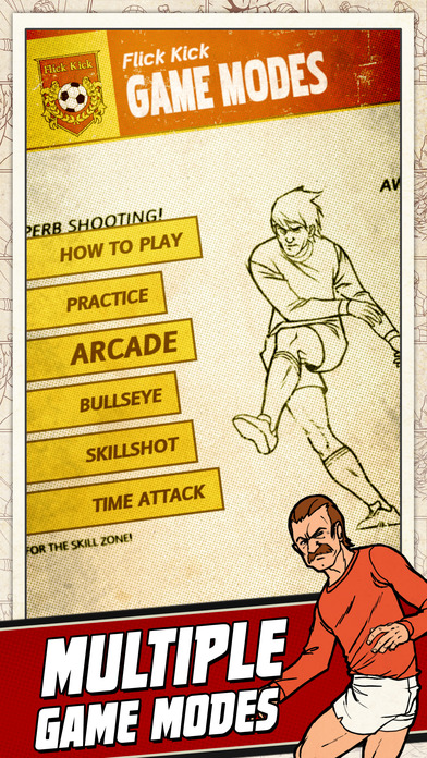 Flick Kick Football iPhone Screenshot 4