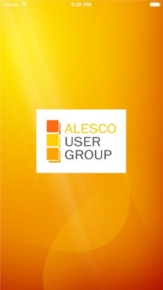 Alesco User Group 2015