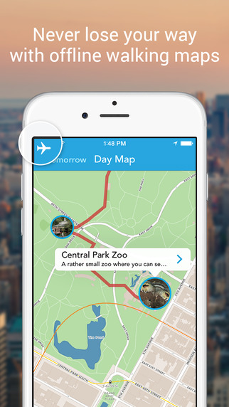 Tripomatic Trip Planner and Sightseeing Travel Guide with Offline Maps