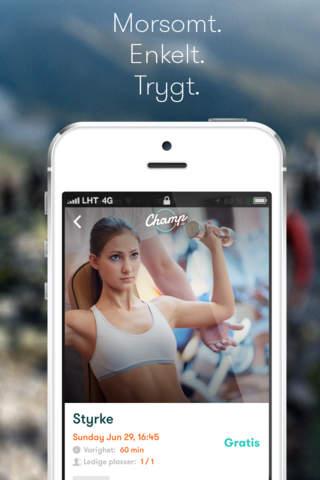 Champ app screenshot