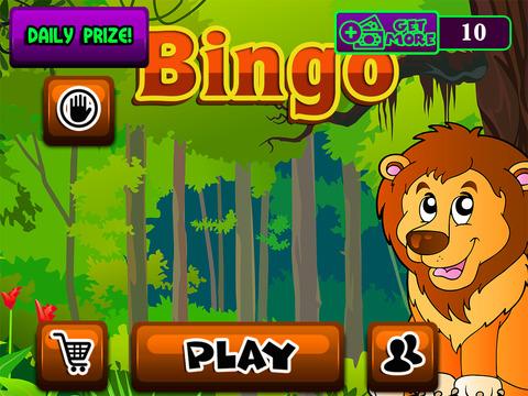 Play Bingo in Jungle Pro Vegas Casino & Card Battle Video Tournament