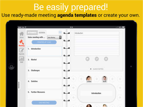Meeting Assistant - Create and share meeting notes and minutes Screenshots