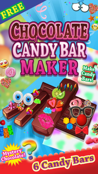 Chocolate Candy Bar Food Maker Game - Make Decorate Eat Yummy Chocolates Free Chef Games