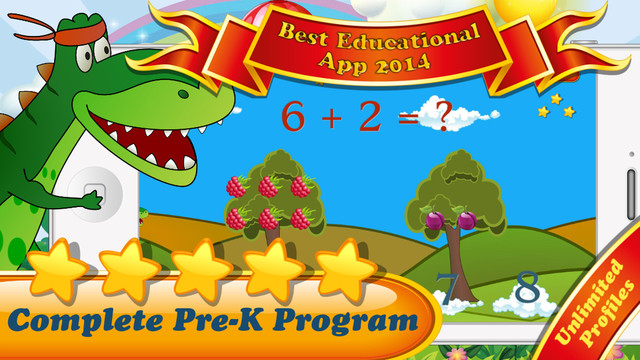 【免費教育App】My Dino Companion for Kids: Complete Preschool, Pre-K and kindergarten learning program by Tiltan Games-APP點子