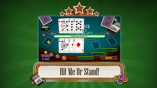 Screenshot 3 Блэкджек 21 Про — Покер Ставки Для Горячей Штриховатости!