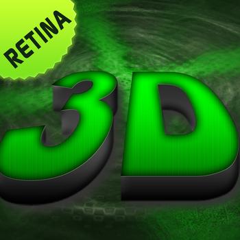 3D Wallpapers & Backgrounds – Cool Best Free HD & Retina Home Screen & Lock Screen Photos for iPhone, iPod & iPad LOGO-APP點子