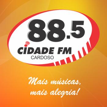 Rádio Cidade 88.5 FM Cardoso LOGO-APP點子