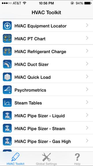 HVAC Toolkit iPhone Screenshot 5